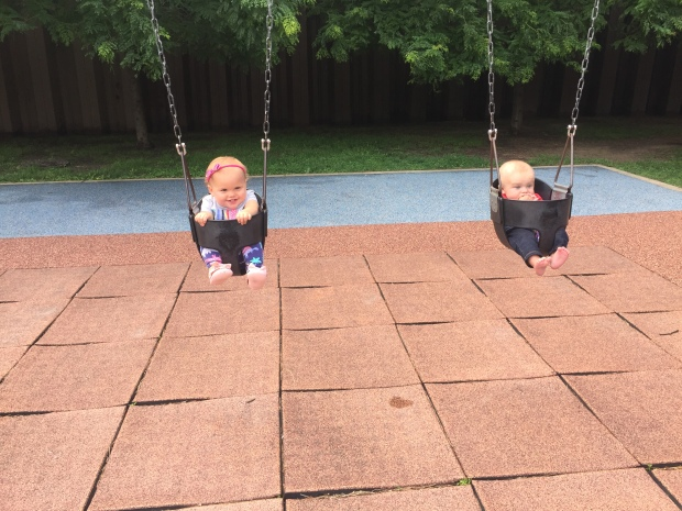 Swinging with my best friend