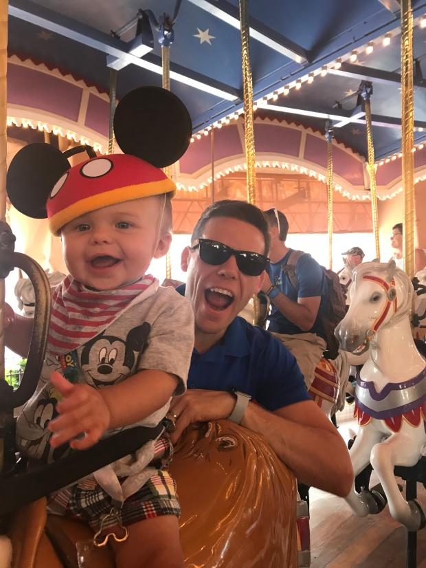 Linc & Daddy_Disney